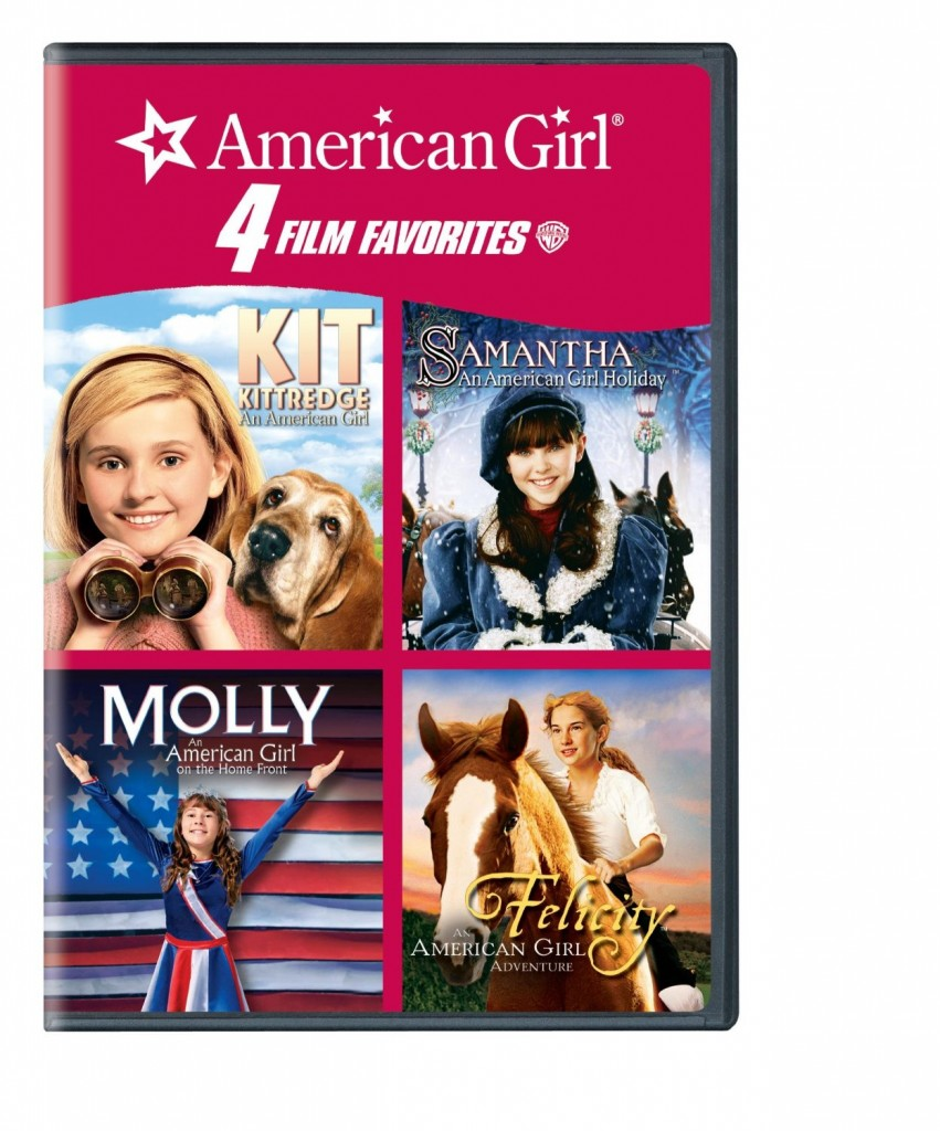 4 Kid Favorites American Girl DVD sale Kit