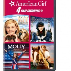 4 Kid Favorites American Girl DVD