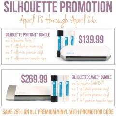 Silhouette Promo April