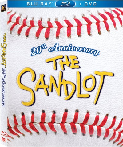 The Sandlot Blu Ray DVD Anniversary Edition