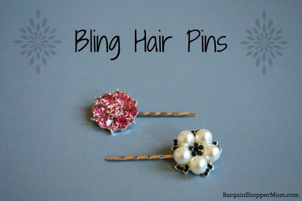 BargainShopperMom Bling Hair Pins