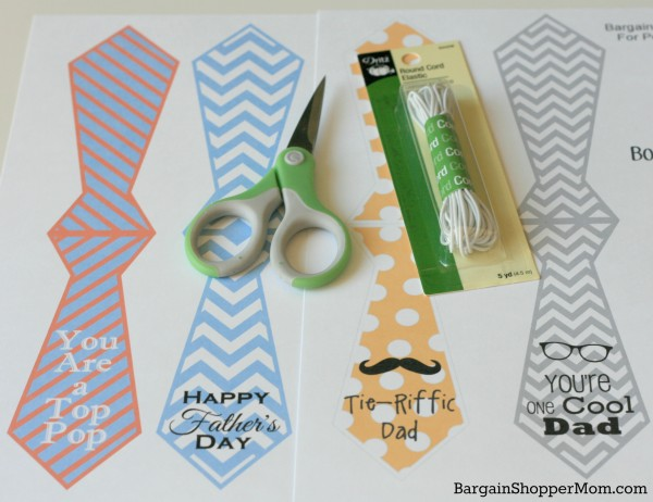 BargainShopperMom Free Printables Father's Day Bottle and Gift Tags