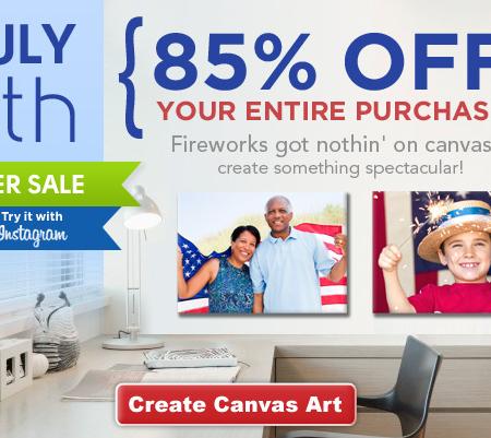canvas prints large size sale