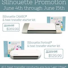 Silhouette June Promo