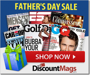 last minute fathers day gift magazine sale