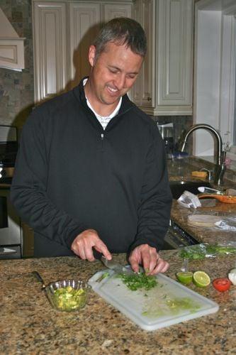 preparing hellofresh meals