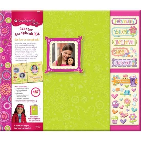 American Girl Crafts Scrapbook Starter Kit