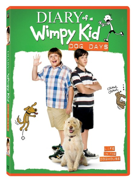 Diary of a Wimpy Kids Dog Days DVD