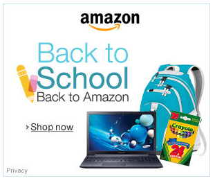 amazon school supply sales