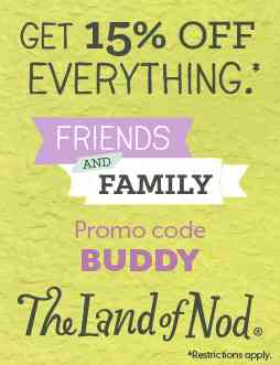 Discount coupon land of nod
