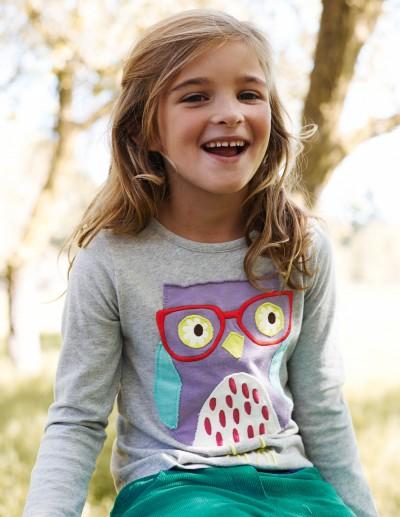 Boden Owl Shirt