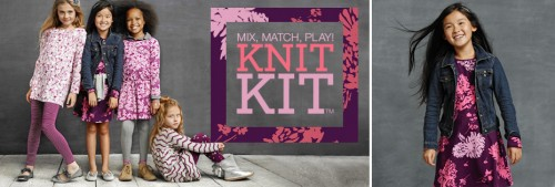 Girls Knit Kit Lands End 2014