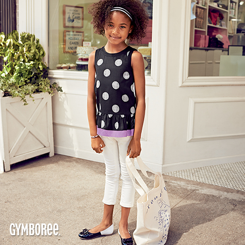 Gymboree Back to School Dots
