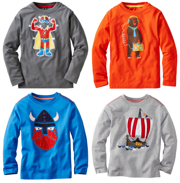 Hanna Andersson Back to School Tees for Boys