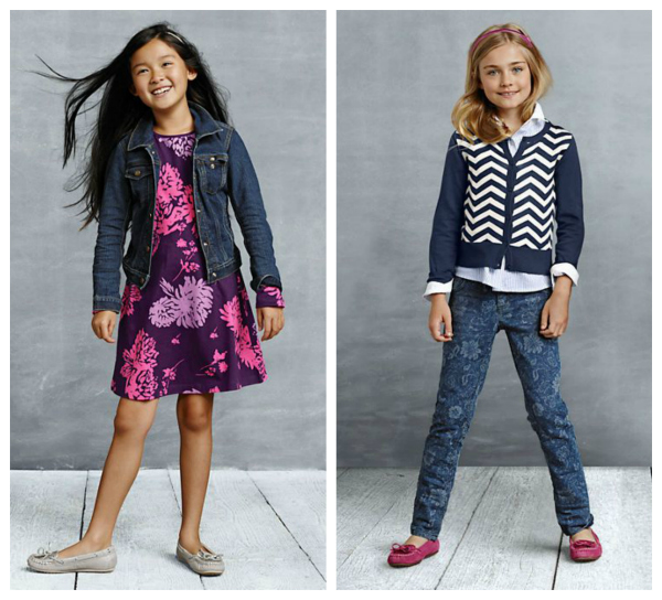 Lands End Back to School Styles