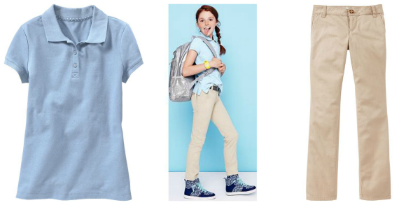 Old Navy Back to School Uniform Pieces