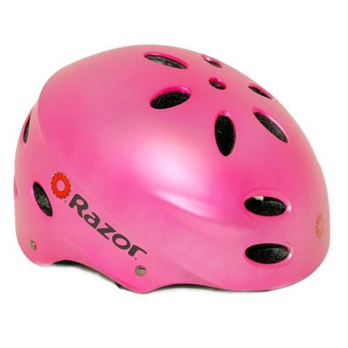 Razor Pink Bike Helmet