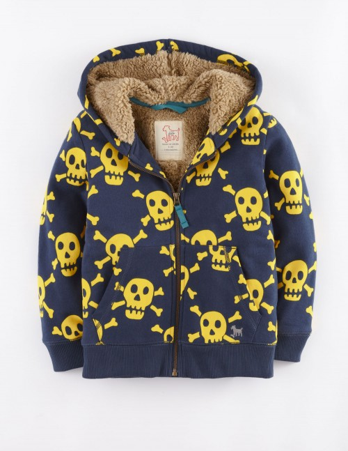 Shaggy Lined Hoody Boden