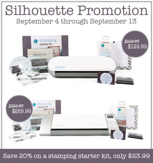 Silhouette America September 2013 Promotion
