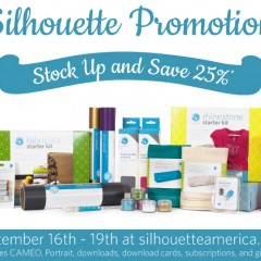 Silhouette September 25 Off Promo