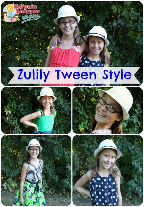 zulily tween style collage