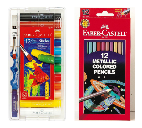 Faber Castell Gel Sticks and Faber Castell Eco Pencils
