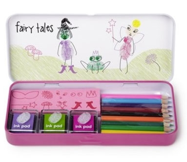 Fairy Tales Fingerprinting Art Set