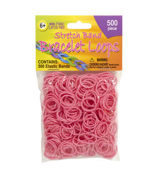 Joann Stretch band bracelet loops