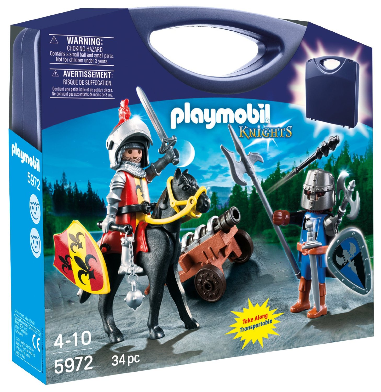 Playmobile Carrying Case Knights
