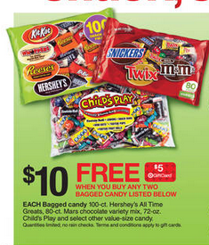 target halloween candy sale gift card