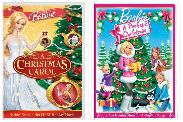 Barbie Christmas Movies on DVD