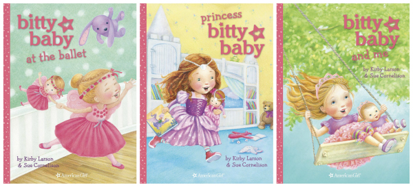 Bitty Baby Books American Girl