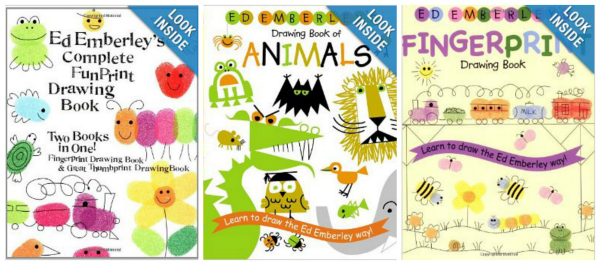 Ed Emberley Drawing Books