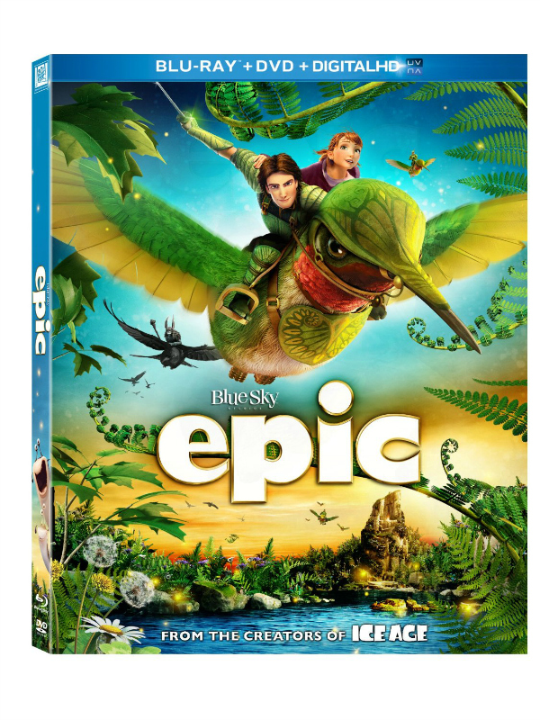 Epic Bluray DVD