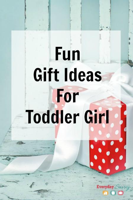 Fun Gift Ideas for Toddler Girl