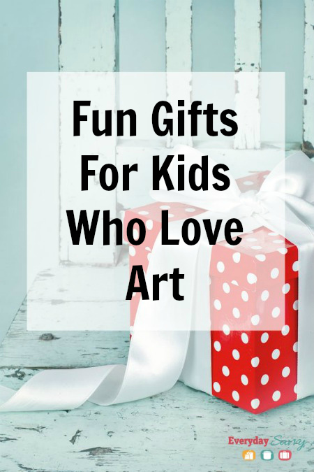 Fun Gifts for Kids Who Love Art