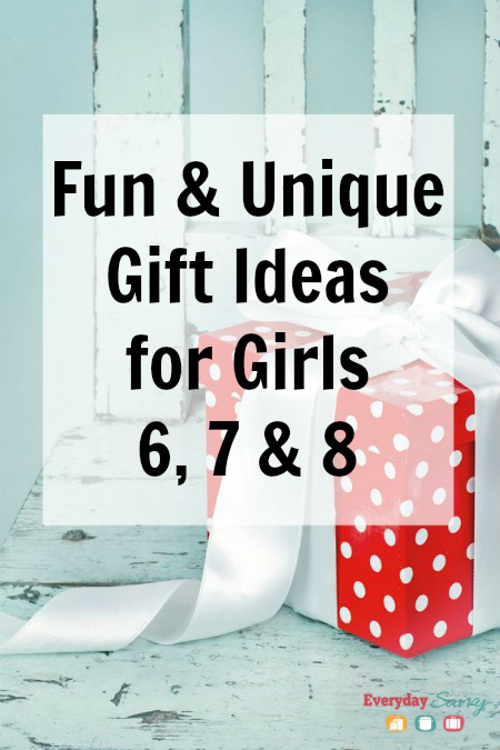 Fun & Unique Gift Ideas for Girls 6 7 & 8