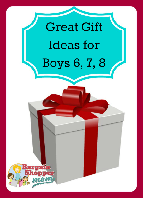 Great Gift Ideas for Boys 6 7 8