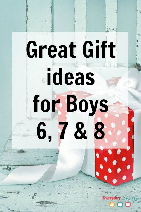 Great Gift Ideas for Boys 6 7 & 8