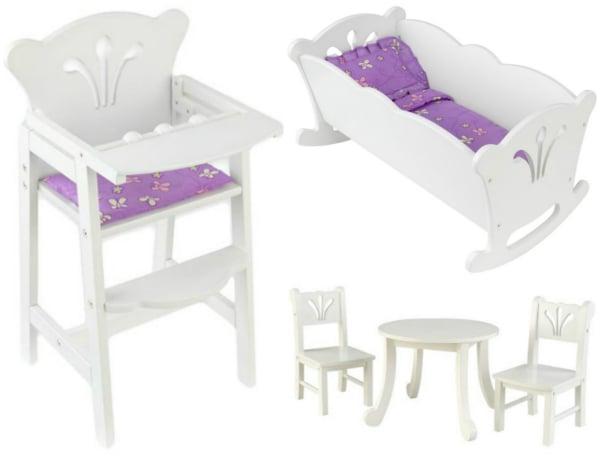 Kidkraft Doll Furniture Gift Idea for Girls 3 4 5 6