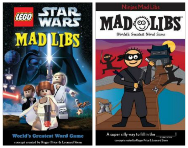 Madlibs for Boys Stocking Stuffer Ideas for Kids
