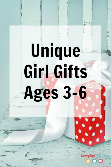 Unique Girl Gifts Ages 3 4 5 & 6
