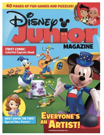 disney jr magazine sale