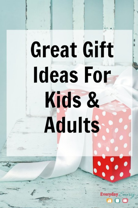 great gift ideas for kids and adults
