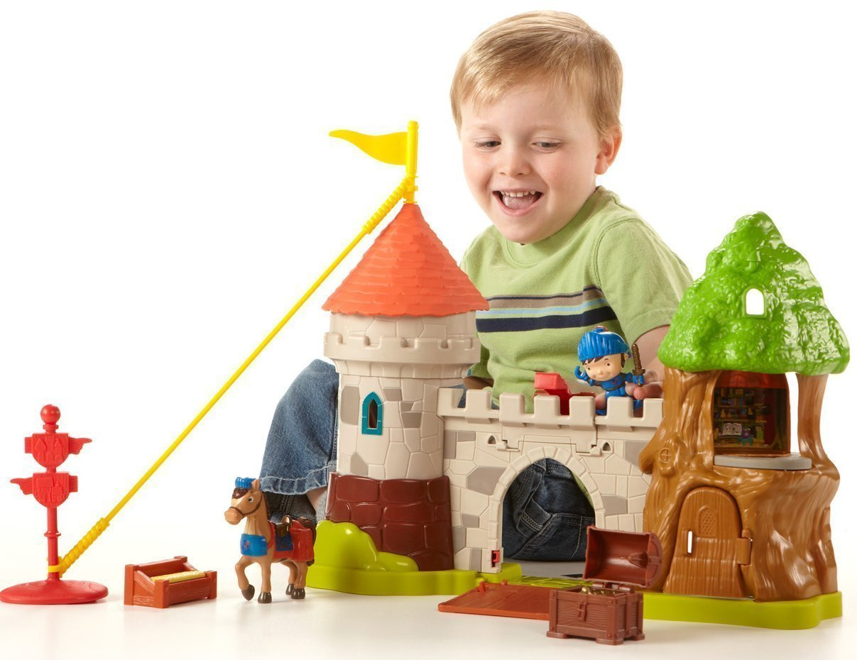 Fisher Price Mike the Knight Glendron Castle
