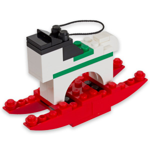Lego December Mini Build Rocking Horse