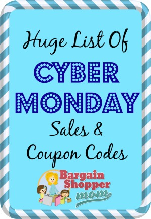 List of Cyber Monday Sales and Cyber Monday Coupon Codes