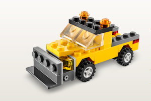 Lego January Mini Build Snow Plow