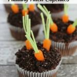 Easy Easter Cupcakes – Carrot Garden Cupcake