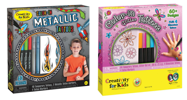 Color-in Tattoo Kits